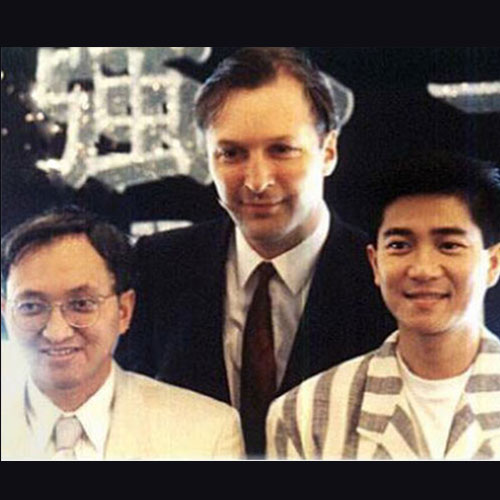 Paul Ewing with Paco Wong and Danny Chan